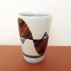 tumbler 11 - 5a Artist: Kazuhiro Nishioka Dia: 8.5cm, Height: 12cm Price: £18.5