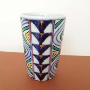tumbler 11 - 5b Artist: Kazuhiro Nishioka Dia: 8.5cm, height: 12cm Price: £18.5