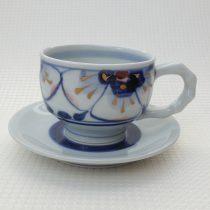 coffee cup 11 - 6a Artist: Kazuhiro Nishioka Cup - Dia: 9.5cm, H: 6.7cm Saucer - Dia: 15cm Price: £25