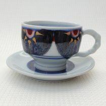 coffee cup 11 - 6d Artist: Kazuhiro Nishioka Cup - Dia: 9.5cm, H: 6.7cm Saucer - Dia: 15cm Price: £25