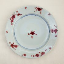 plate 'yu-ri kou red'  21 - 5 Artist: Masataka Nakata Dia: 25cm Price: £22