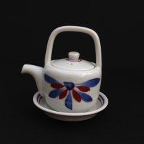 oil/sauce holder 25 - 61 Artist: Baizan Studio Dia: 7cm (10cm with mouth), H: 9.7cm Price: £13