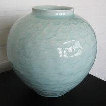celadon vase 9 - 1 Artist: Shigeki Kameda Dia: 30cm, H: 29cm Price: £150